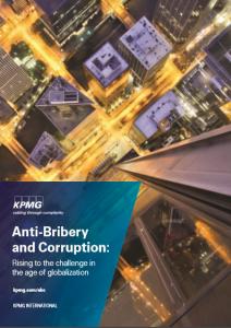 L'ABC Report di KPMG: rischio corruzione e terze parti