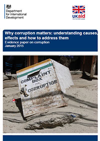 Corruption and Development (London June29th)