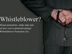 Il modello americano: la legge sui whistelblower
