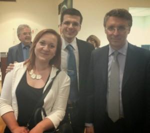 Foto con Pres. Cantone