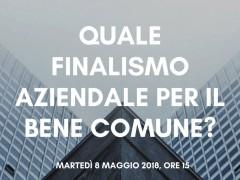 Quale Finalismo Aziendale Per Il Bene Comune?