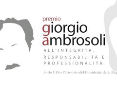 """IL PRESIDENTE MATTARELLA AL PREMIO AMBROSOLI.  AMBROSOLI: """"È STATA UN'OCCASIONE UNICA DI FARE QUALCOSA PER IL PAESE""""."""